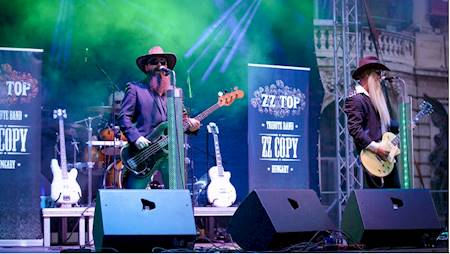 TRIBUTE TO ZZ TOP - ZZ Copy (Węgry)