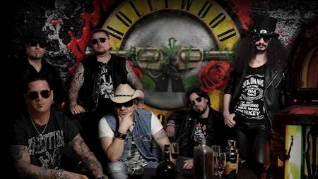 TRIBUTE TO GUNS N'ROSES Hollywood Rose (Węgry)