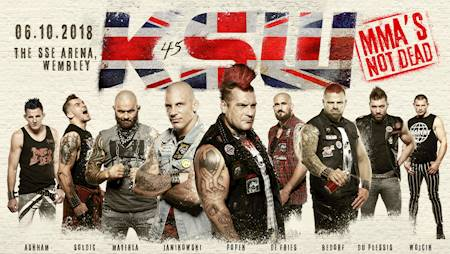 KSW 45: The Return to Wembley