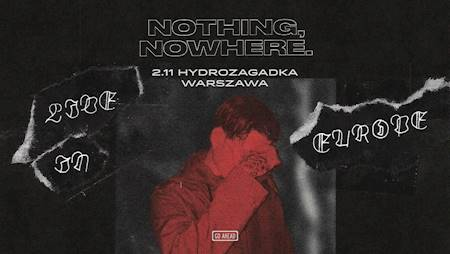 Nothing, nowhere.