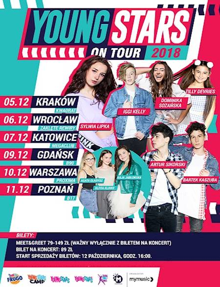 Young Stars on Tour 2018