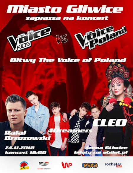 Bitwy The Voice of Poland w Gliwicach