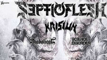 Septicflesh \ Krisiun \ Diabolical \ Science of Disorder