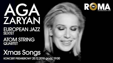 Aga Zaryan feat. Atom String Quartet/European Jazz Sextet - Xmas Songs