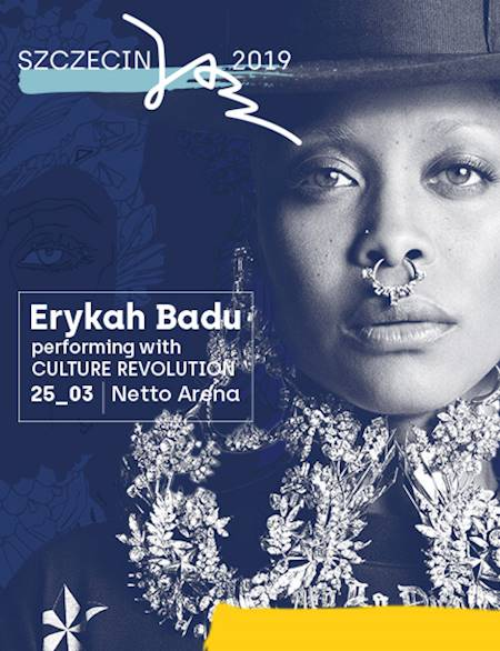 Erykah Badu performing with Culture Revolution