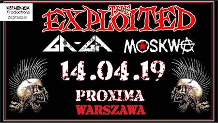 THE EXPLOITED, Ga-Ga, Moskwa