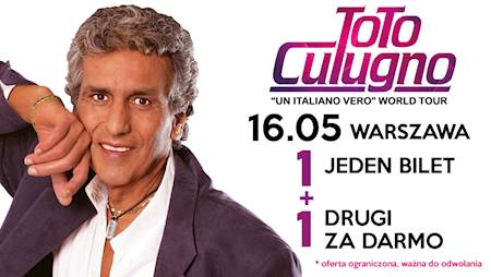"Toto Cutugno – ""Un Italiano Vero"" World Tour"