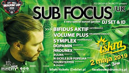 DrumCity Warsaw w/ SUB FOCUS [Let It Roll 2019 Warm up]