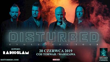Disturbed Evolution Tour