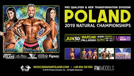 Musclemania Poland 2019