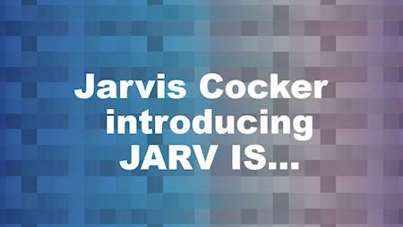 Jarvis Cocker introducing JARV IS...