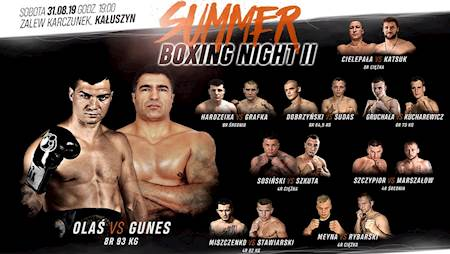 Summer Boxing Night 2 Olaś vs. Gunes