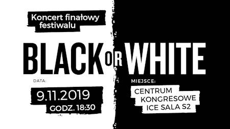 Festiwal Black or White