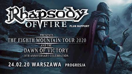 Rhapsody of Fire + support