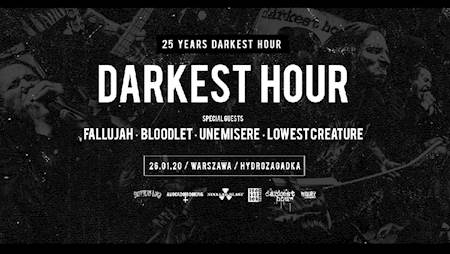 DARKEST HOUR - 25th Anniversary Tour 2020