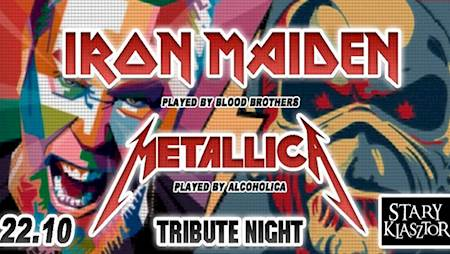 Tribute Night to Iron Maiden & Metallica
