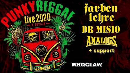 Punky Reggae live 2020 Farben Lehre, Analogs, Dr MISIO