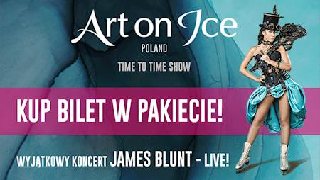 Art On Ice Poland - James Blunt live