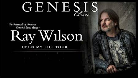 Ray Wilson - Upon My Life 2020 Tour
