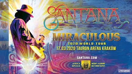 Santana: Miraculous 2020 World Tour
