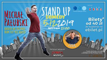 Stand-up: Michał Pałubski