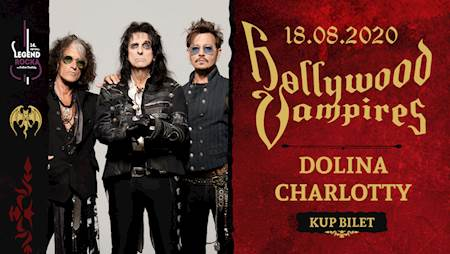 14. Festiwal Legend Rocka: Hollywood Vampires