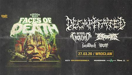 Avocado Booking presents: Rising Merch Faces Of Death 2020 - Wrocław