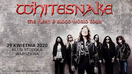 Whitesnake: The flesh and blood world tour