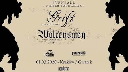 Grift (acoustic solo set) + Wolcensmen