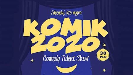 Comedy Talent Show Komik 2020