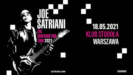 Joe Satriani: The Shapeshifting Tour