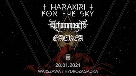 Harakiri For The Sky + Schammasch + Gaerea