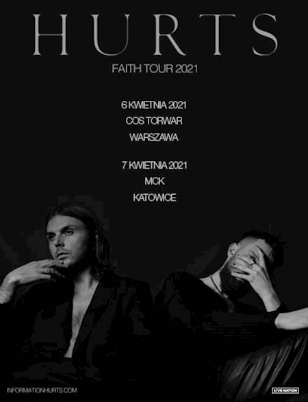 Hurts Faith World Tour