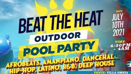 Beat The Heat Outdoor Pool Party