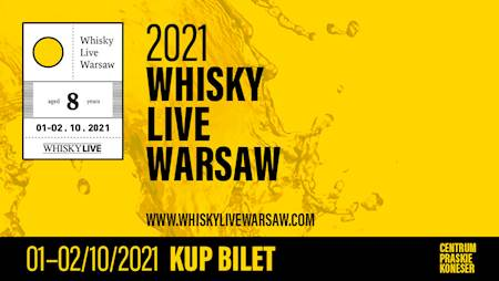 Whisky Live Warsaw 2021