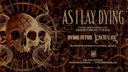 As I Lay Dying + Dying Fetus, Emmure