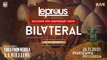 """Leprous """"Exclusive Bilateral 10th Anniversary Show"""""""
